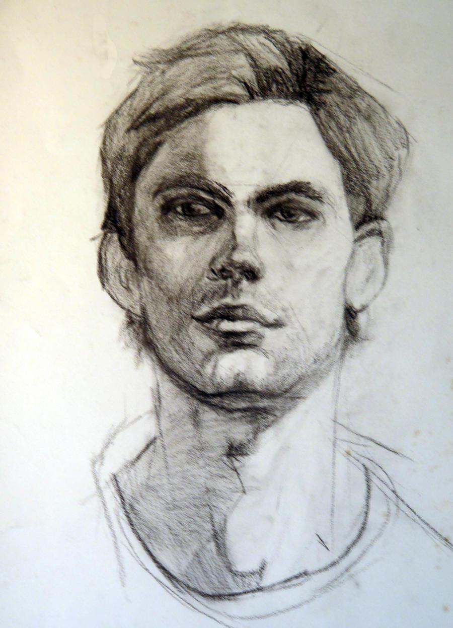 Male Portrait by AM-Nyeht