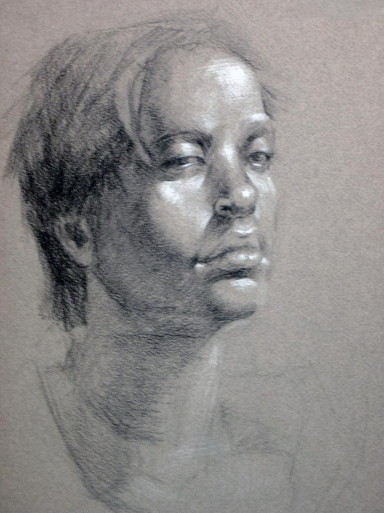 Female Portrait 2 by AM-Nyeht