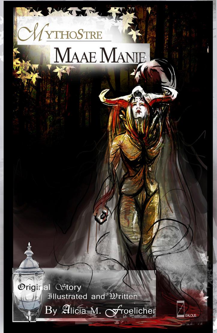 Mythostre: Maae Manie Cover by AM-Nyeht