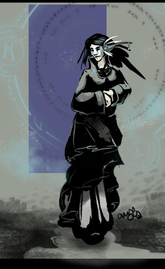 Raven Girl by AM-Nyeht