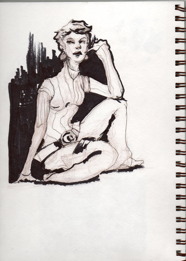 Summer Sketch by AM-Nyeht