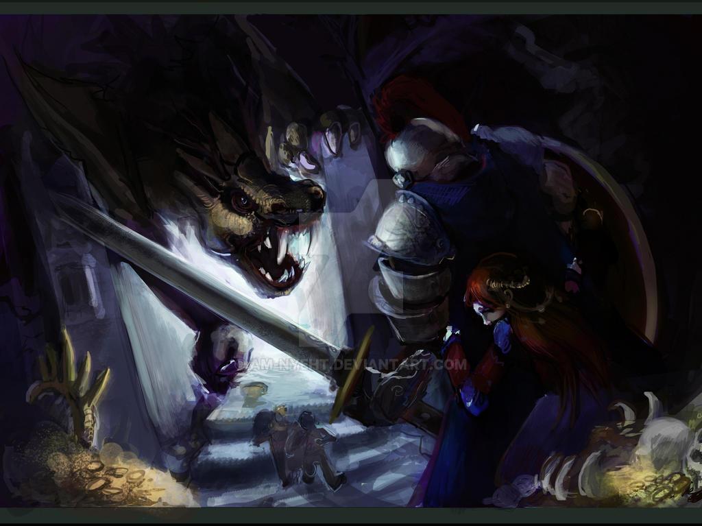 Fantasy Rescue by AM-Nyeht