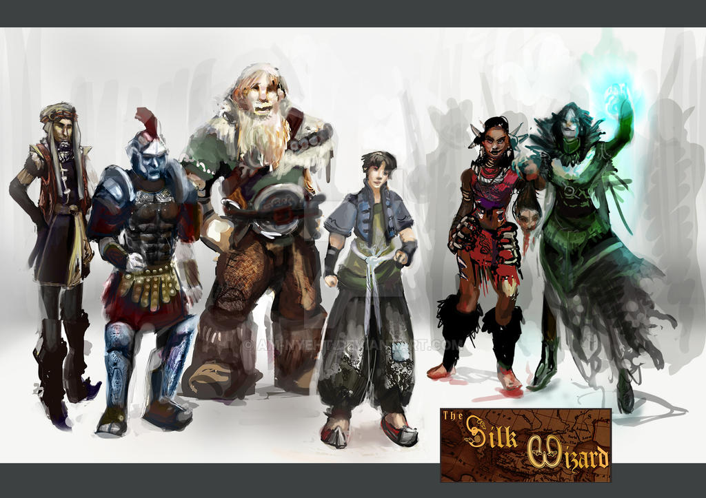 The Silk Wizard Project by AM-Nyeht