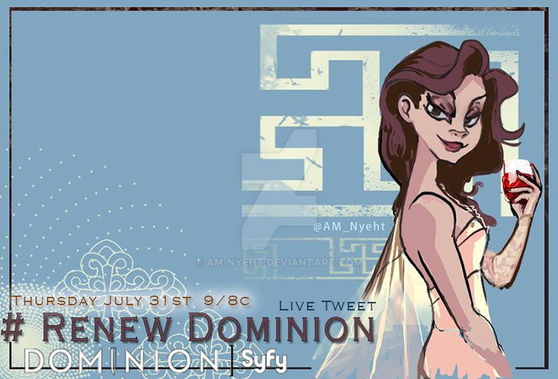 Dominion: Arika Banner by AM-Nyeht
