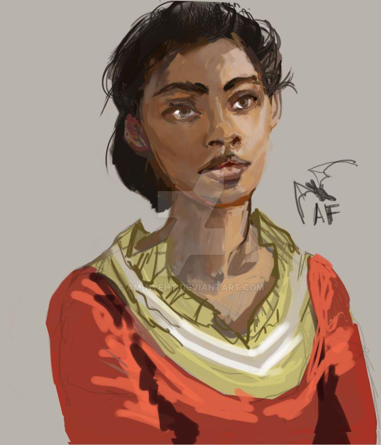 Lady in Orange by AM-Nyeht