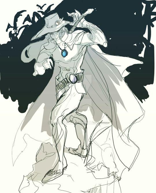 Vampire Hunter D by AM-Nyeht