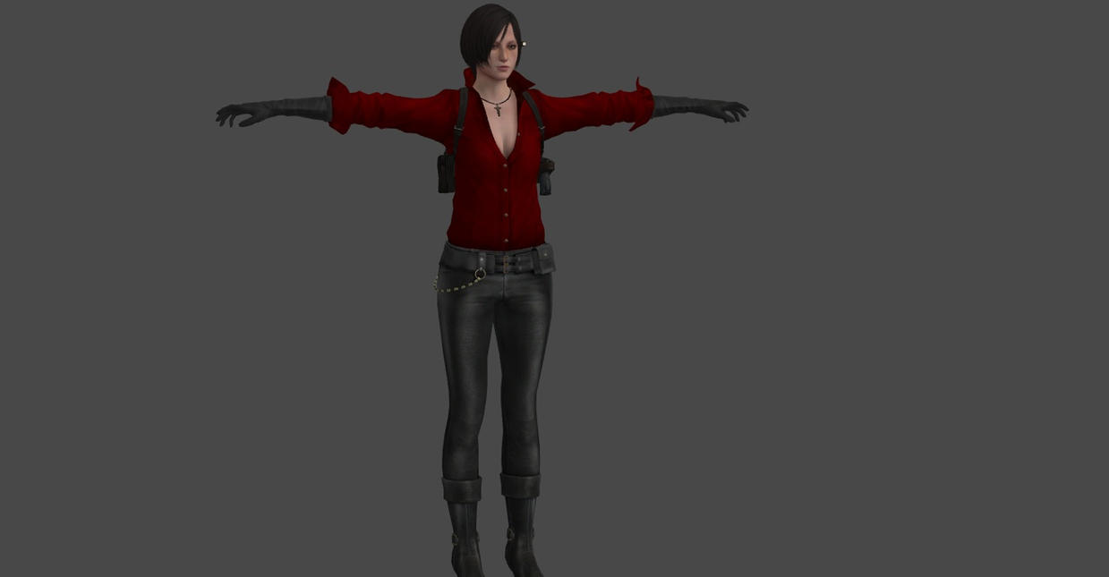 RE6 ADA WONG by Oo-FiL-oO