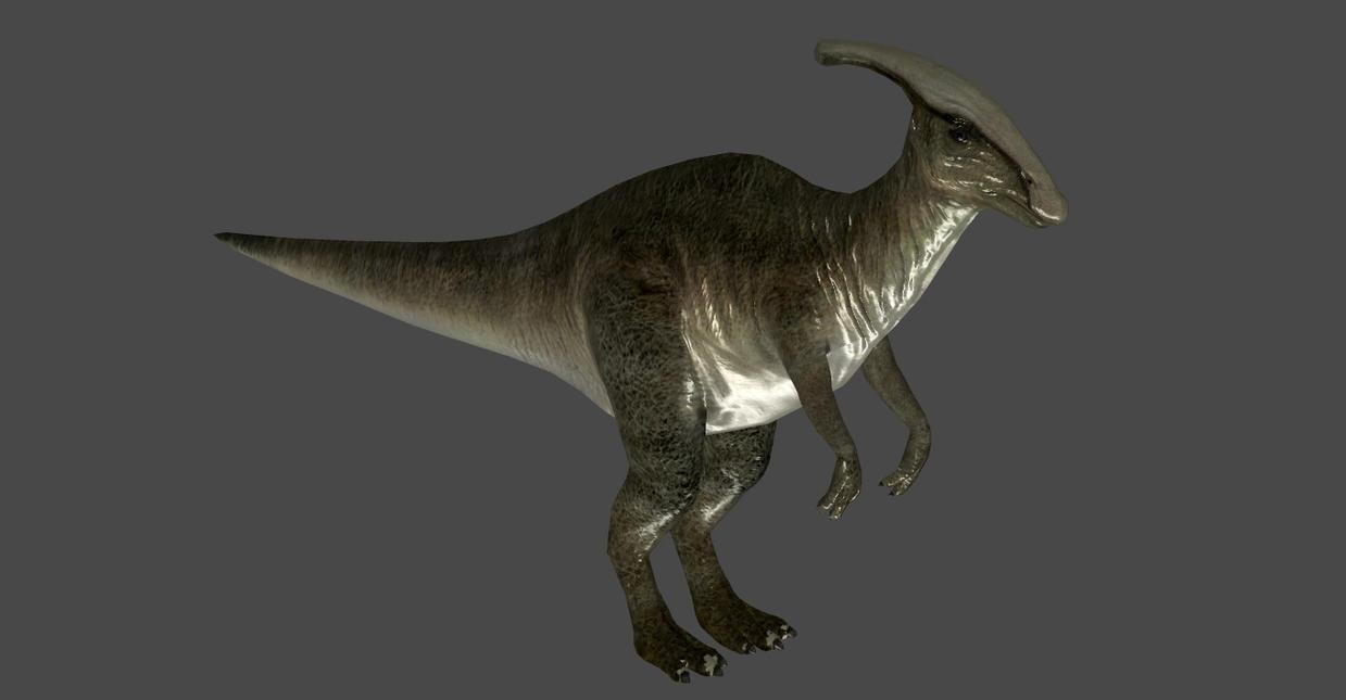 hadrosaurus original bones by oo fil oo