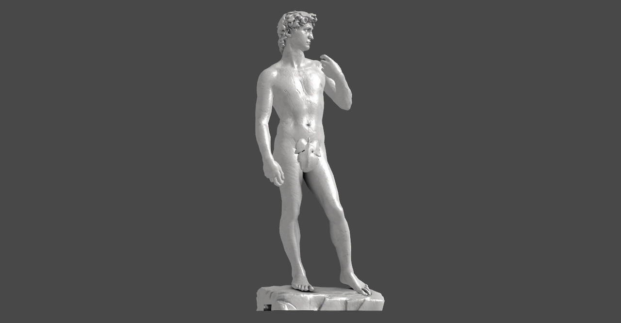 DAVID ORIGINAL BONES (is not only a statue) by Oo-FiL-oO