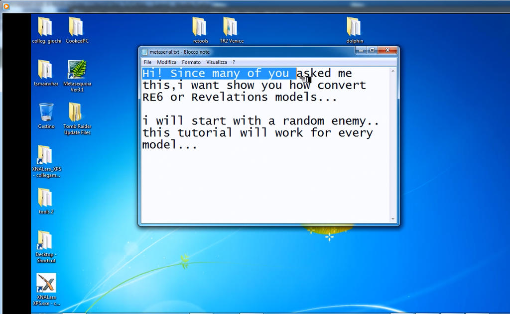 RESIDENT EVIL 6-REVELATIONS  CONVERTING TUTORIAL