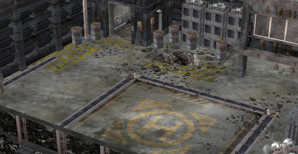 RESIDENT EVIL 1(UC) FINAL CONFLIT LOCATION by Oo-FiL-oO