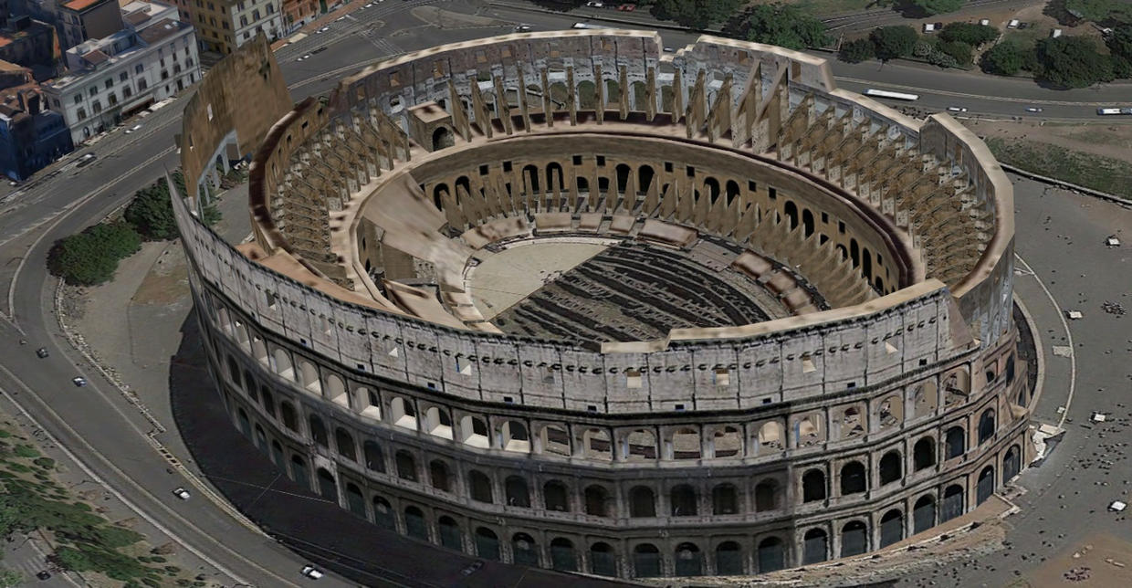 OUR AWESOME COLOSSEO -ROME- ITALY by Oo-FiL-oO