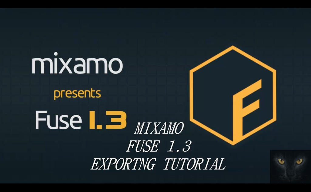 MIXAMO FUSE 1 3 EXPORTING TUTORIAL by Oo-FiL-oO on DeviantArt