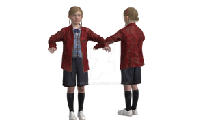 RE2 REMAKE - SHERRY CLAIRE JACKET INGAME BONES