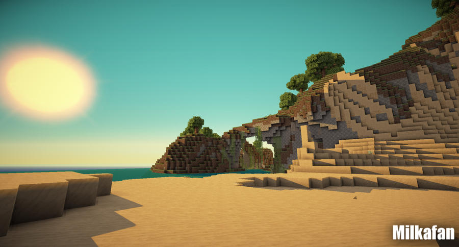 Minecraft Wallpaper 13 By Milkafan34