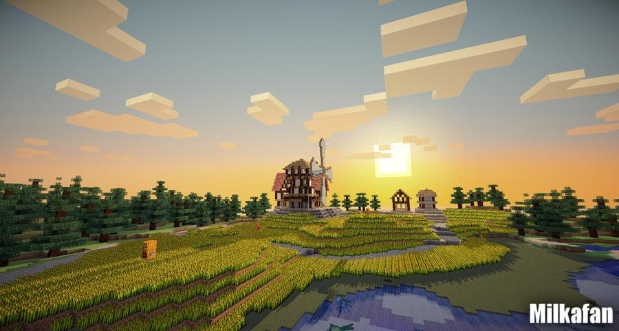 Minecraft [1.7.10] (2011) PC | Repack скачать торрент