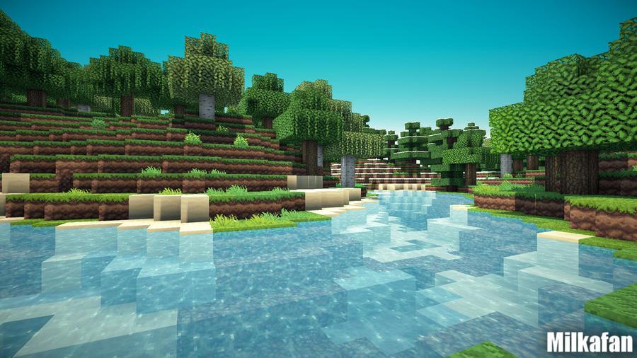 Minecraft Wallpaper 39 By Milkafan34