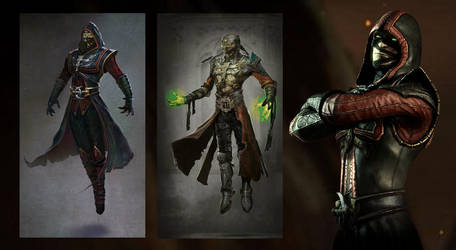Ermac by MKArtLover
