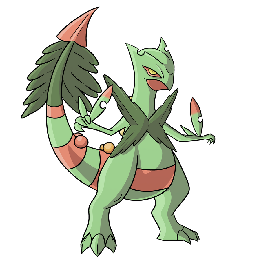 Official Mega Sceptile by SuccessfulDropOut on DeviantArt