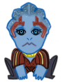 Samara Chibi from Mass Effect by golddiggerbaby