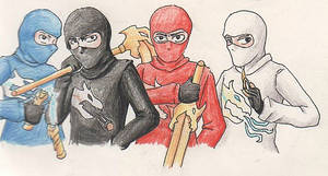 Ninjago- Ninja style!