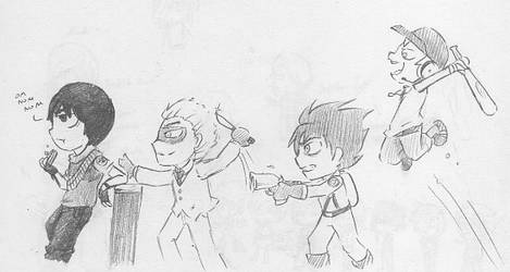 When Ninjago meets TF2 by uni416