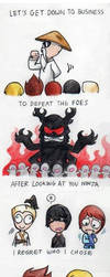 Make a Ninja out of you! by uni416