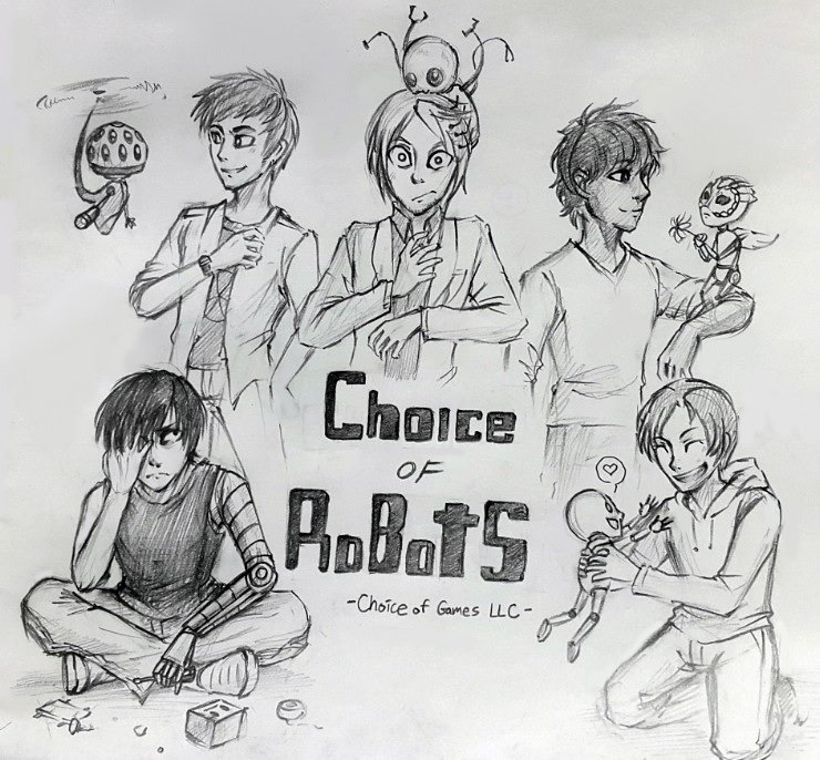 Choice of Robots by uni416