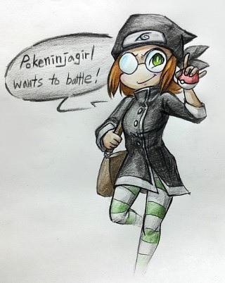 BLACK - Pokeninjagirl by uni416