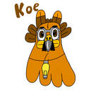 Koe's face by ArtisticHokioi