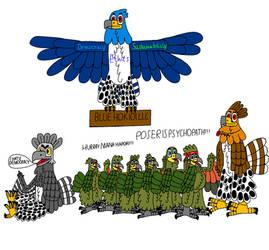 Workplace democracy with birds by ArtisticHokioi