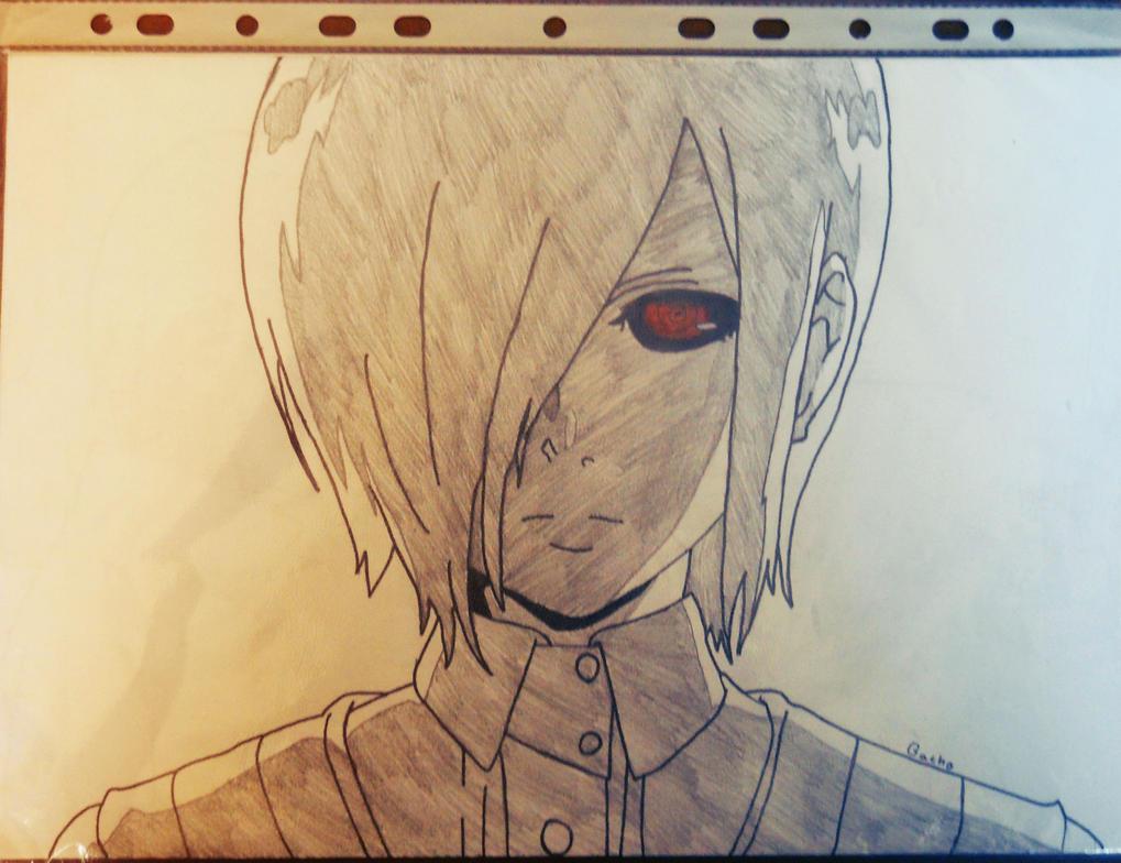 Touka Kirishima ( Tokyo Ghoul ) By Bacho22 On DeviantArt