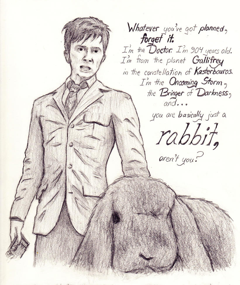 Basically Just a Rabbit by ChrysophylaxCreates