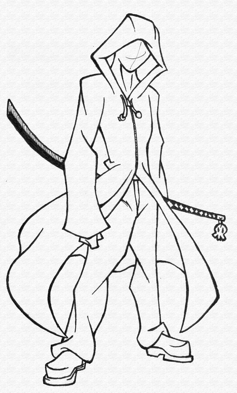 Drawing sketch anime characters sketch coloring page for Manga character template