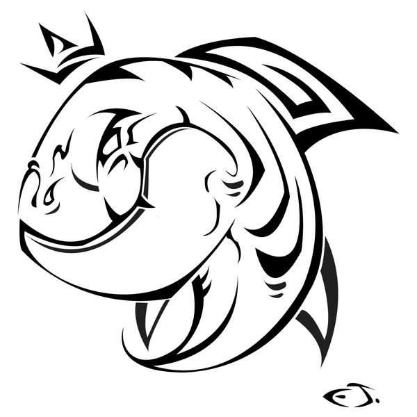 tiger shark tattoo designs. King Tiger Shark by