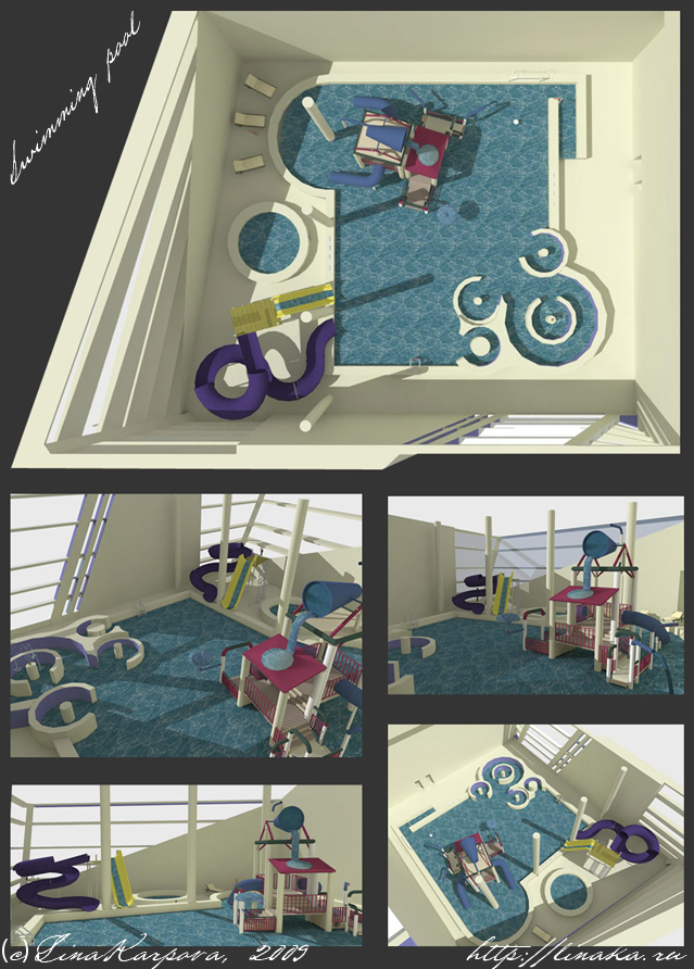 3D interiors by Schur