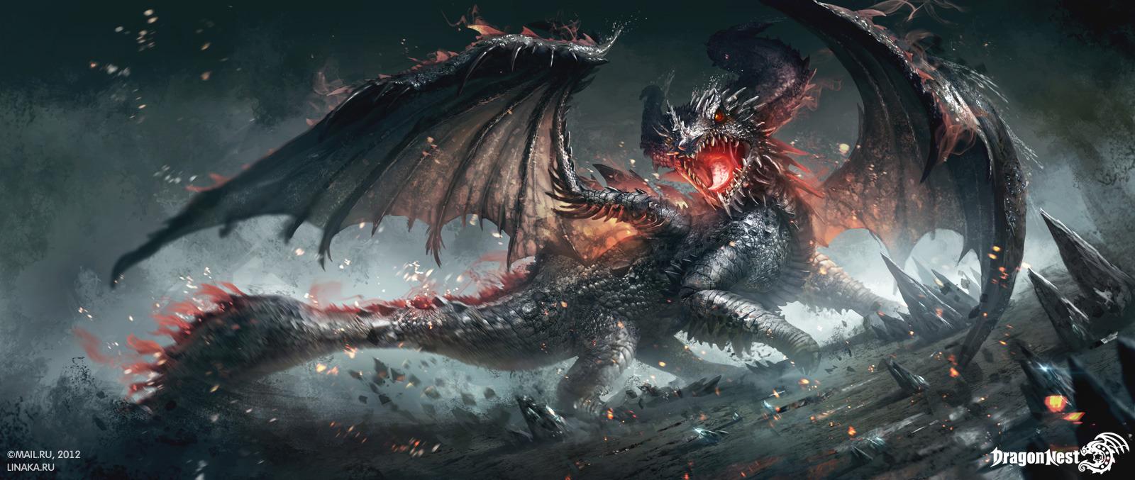 Swamp Dragon By Schur On Deviantart