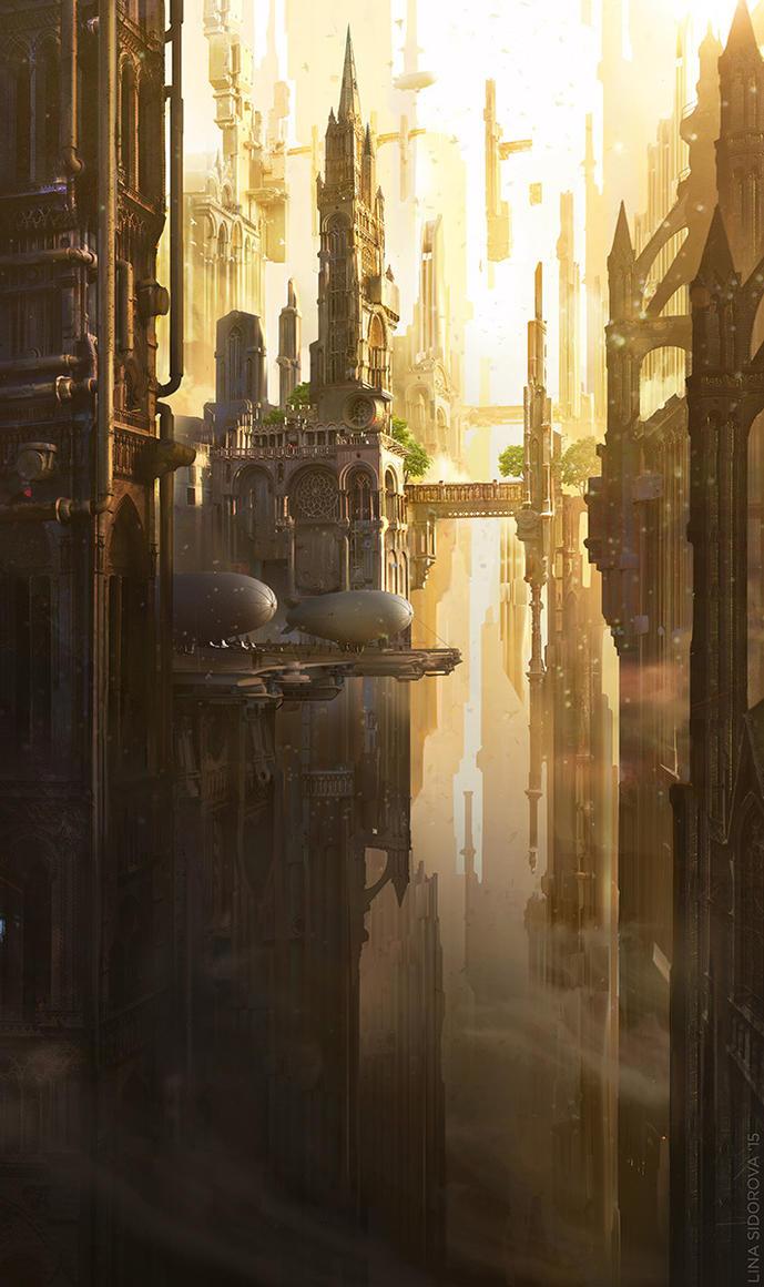 Gothic Future by Schur