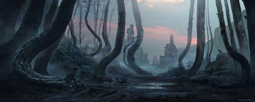 Cold morning by linasidorova