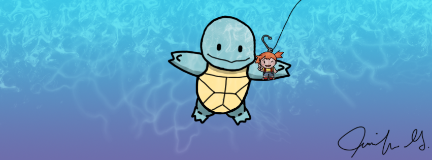 Nevermind: Squirtle Cover by thepocketfox