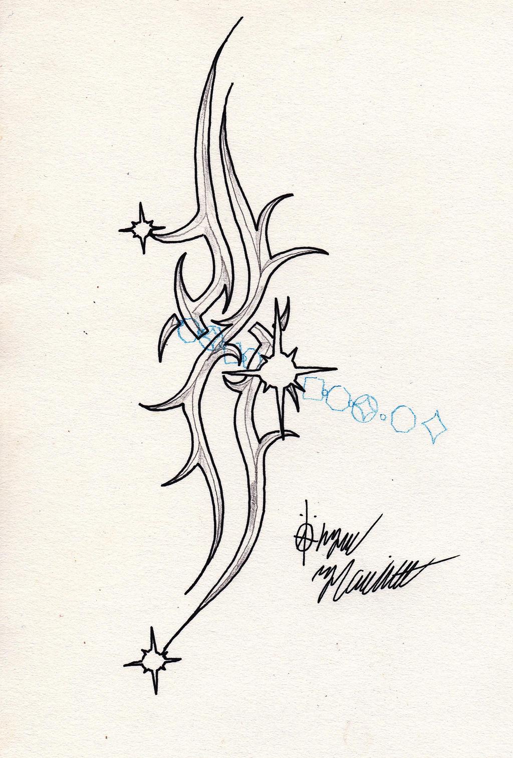 blade tribal tattoo design by soul armageddon on deviantart. Black Bedroom Furniture Sets. Home Design Ideas
