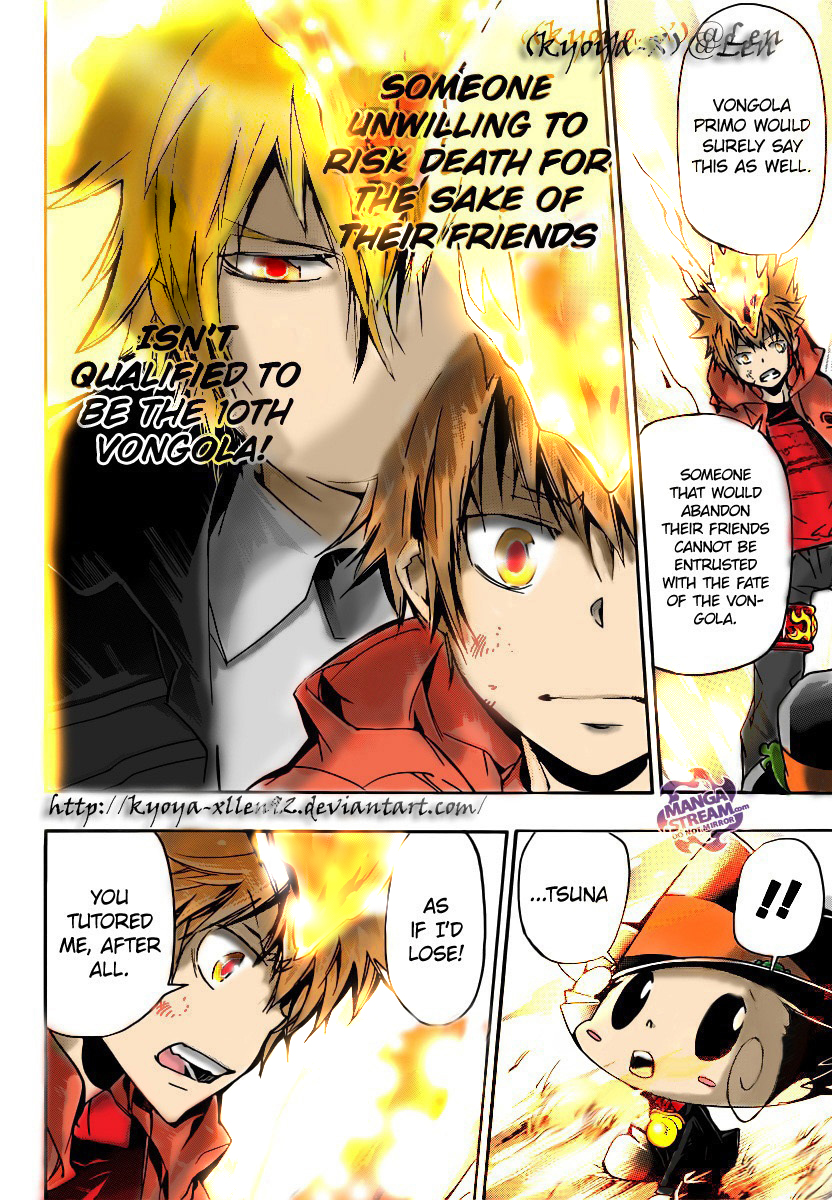 Katekyo Hitman Reborn Manga Chapter 393 Page 15 By Kyoya Xllen92 On Deviantart