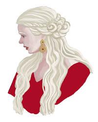 Daenerys Targaryen by Amnevitah