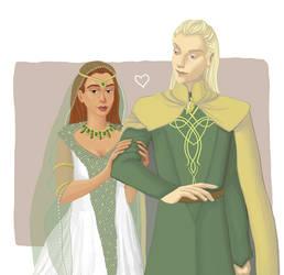 Maddie and Erynion Wedding by Amnevitah