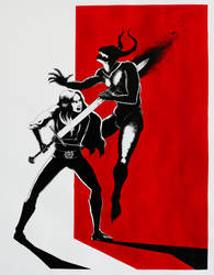 Sword'n demon by Pensolcez