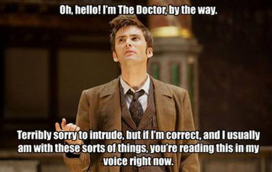 10th Doctor by pandorah630