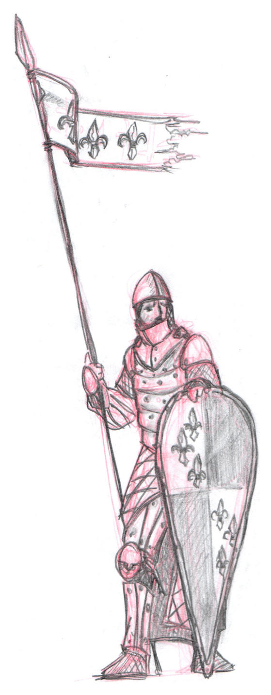 Norman Knight by timyvonstabs