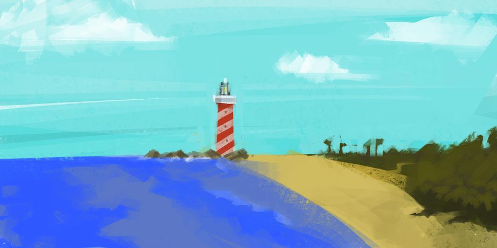 Beach Speed paint by timyvonstabs