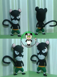 Panther Lily Fairy Tail Plushie by greennnpandacraft