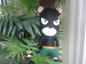 Panther Lily Fairy Tail Plushie (2) by greennnpandacraft